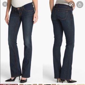 J Brand ( Mama J ) maternity straight leg jeans